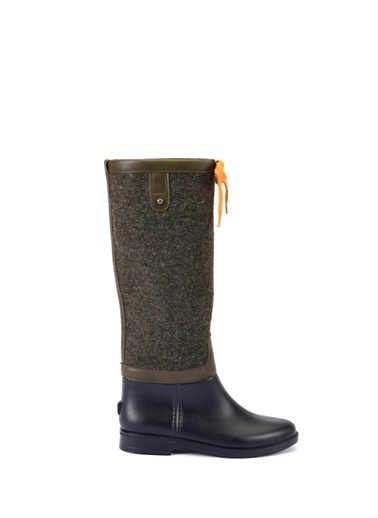Esem ESEM B0014 Yağmur Çizmesi Kadın Ayakkabı    Yeşil